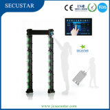 Portable Walk Through Metal Detector with Big LCD Screen