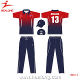 Design Own Womens Team Silm Sublimation Cricket Jerseys Clothing
