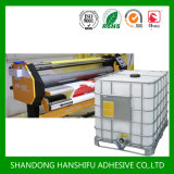 Water Based Acrylic Glue for Pet Film with Paper Lamination