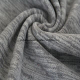 Cation Printing Effect Micro Fleece, Jacket Fabric (steel gray)
