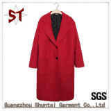 Hot Sale Long Style Suit Collar Fashion Brit Outer Wear