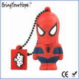 3D Design Spider-Man USB Flash Disk with OEM Branding (XH-USB-188)