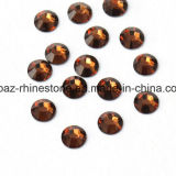 2088 Best Bling Cutting Smoked Topaz Non Hotfix Glass Rhinestone Flat Back Rhinestone (FB-14)