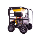 2, 3, 4, 6 Inch Air-Cooling Easy-Moving/Portable Small Irrigation Diesel Water Pump, Gasoline Water Pump, Fire-Fighting Pump, Dirty Water Pump