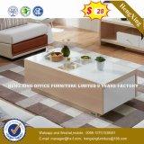 Custom Color Code MDF Bamboo Legs Coffee Table (HX-8NR0866)