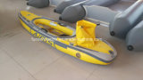 Single Person Inflatable Kayak with Air Deck