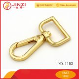 Wholesales Bags Accessories Snap Hook with Metal Gold Color