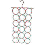 OEM Colorful Rattan Creative Multi-Functional Hanger Folding Scarf Rack
