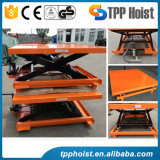 300kg Hand Manual Mobile Trolley Hydraulic Mini Scissor Lift Table Pts300A Price