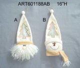 Santa Snowman Giftbag Christmas Decoration Craft-2asst.