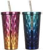 Thermos Stainless Steel Travel Mug with Straw