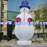 Snowman Inflatable Cartoon Characters for Home Yard Christmas Decoration