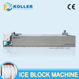 SGS Approved 15 Tons Ice Block Machine with Crane System