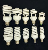Compact T3 T4 Half Spiral Energy Saver Lamp Bulbs for CFL Lamp