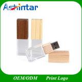 USB Pen Drive Flash Memory Bamboo USB Stick Wooden Crystal USB Flash Drive
