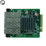 Expended Ethernet Card 4*SFP+10/100/1000 Ethernet Ports, Pcie X8