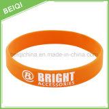 OEM Multicolor Ink Filled Silicone Bracelet for Promotion Gift