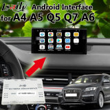 Android 6.0 GPS Navigator for Audi A4 A5 A6 Q5 Q7 with Video Interface WiFi Mirrorlink Yandex Google Play