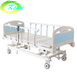 Facroty Price Wholesale 3 Functions Electric Hospital Bed with Aluminum Alloy Side Rail