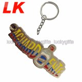 Manufactures in China Cheap Wholesale Blank Custom Logo Metal Keychains for Promotional Gift