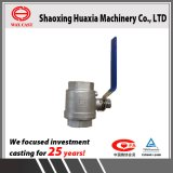 Investment Casting Stainless Steel 3/4'' Ball Valve China Factory