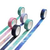 Wholesale Custom Printed Washi Tape Beautiful Dream Nebula Paper Masking Tape