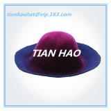 100% Wool Felt Colorful Capeline Hat Body Flare Hat Hood
