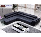 2020 Latest Design Sectional Leather Modern Corner Contemporary Corner Lounge Suites Genuine Leather Corner Leisure Corner American Sofa