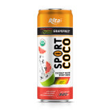 330 Ml Alu Can Sport Coconut Water with Grapefruit Flavor