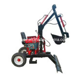 Cheap Small 2 Wheel Digging Machine Cheap Mini Excavator Small Backhoe for Hot Sale