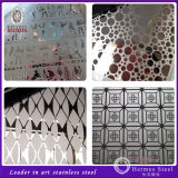 China Supplier Etching Decorative Stainless Steel Sheet Building Materials