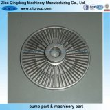 Investment Lost Wax Casting CD4mcun Pump Impeller