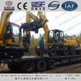 Shandong Wood/Sugarcane Loader Crawler Small Catching Wood Machine
