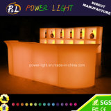 Light up Furniture Illuminated LED Corner Bar Section