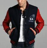Wholesale Cheap Custom Made Leather Sleeve Jackets (ELTSJJ-44)