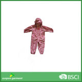 Kids Waterproof Raincoat 100% Polyester Coverall