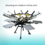 Manual Carousel Silk Screen Printing Machine