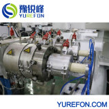 16-40mm Dual Cavity CPVC Pipe Conical Twin Screw 65/132 Extrusion Line with Laser Printer
