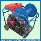 Gasoline Engine 180bar Small Volume High Pressure Sewer Cleaning Equipment