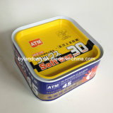 Square Metal Can for 320g Car Wax