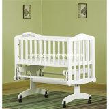 Wooden Cradle Glider Crib