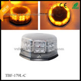 Clear PC Dome Amber Mini Lightbar for Emergency Vehicles