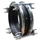 Expansion Rubber Joint with Removable Tie Rods