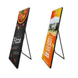 P2.5 Full Color LED Poster, LED Advertising Display