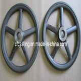 CNC Precision Part Casting Hand Wheel with Stainless Steel