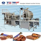 COB800 Multiple Protein Bar/Cereal Bar/Snicker Bar/Candy Bar/Chocolate Bar Production Line with Chocolate Enrobing Machine Line