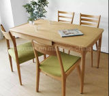 Solid Wooden Dining Table Living Room Furniture (M-X2397)
