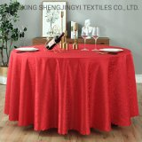 Hotel Banquet Thickened Polyester European Round Table Cloth