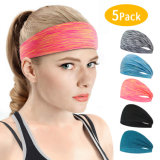 Wholesale Fashion Hairband Non-Slip Sweatband Sport Headbands Custom Women&Men Headband for Yoga
