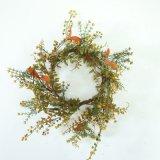 Cheap Artificial Flower Plastic Grass Wreath Dy45075